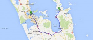 Auckland nach Coromandel
