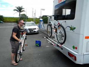 Fahrradkauf in Whangarei