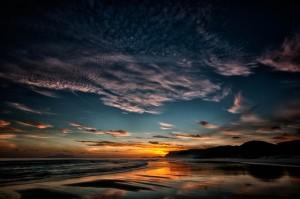 Sonnenaufgang Pakiri