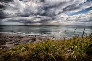 Gewitter im Meer
