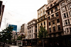 Stadtfassade