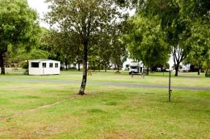 allein aufm Campingplatz