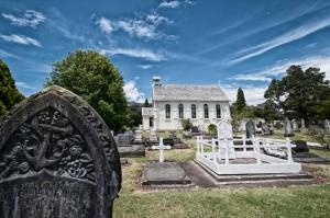 die älteste Kirche Neuseelands