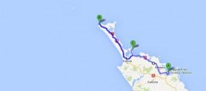 Russell nach Cape Reinga nach Whatuwhiwhi
