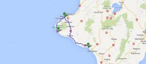 Opunake nach Kai iwi