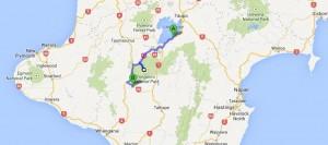 Taupo nach Tongariro
